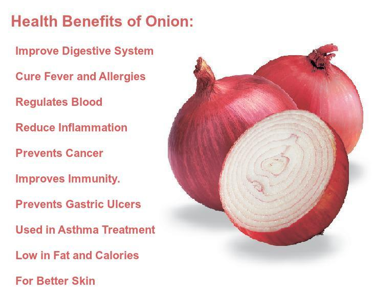 benefits of onion for skin, hair, weight loss and health